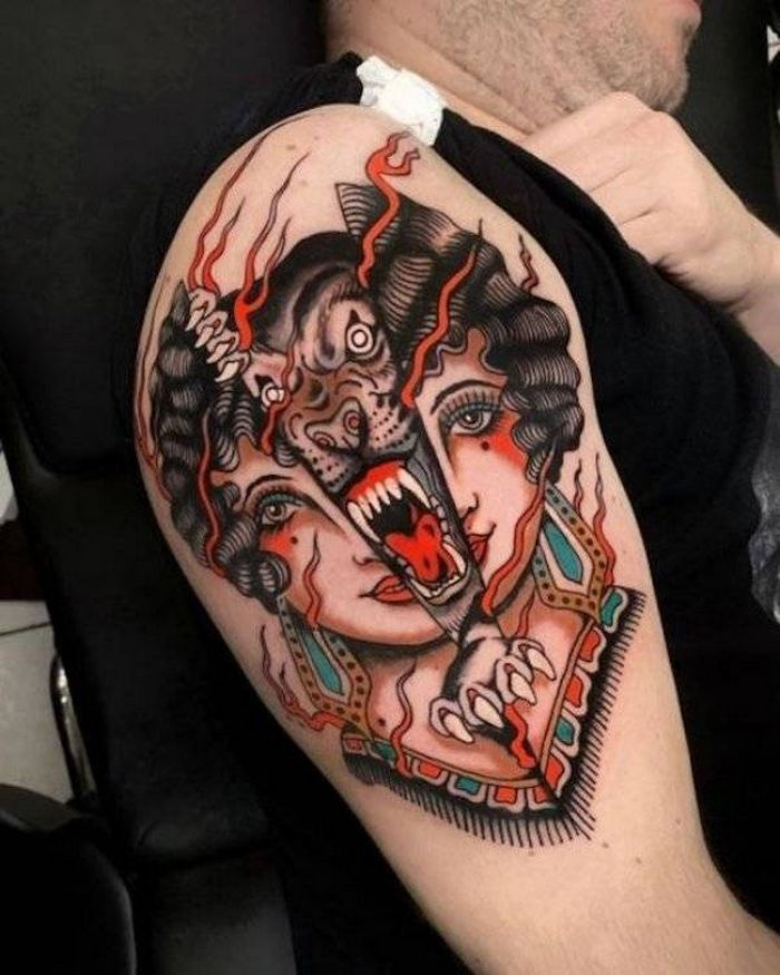 Tatuagens hiper-realistas são as melhores tatuagens! (34 fotos) 34