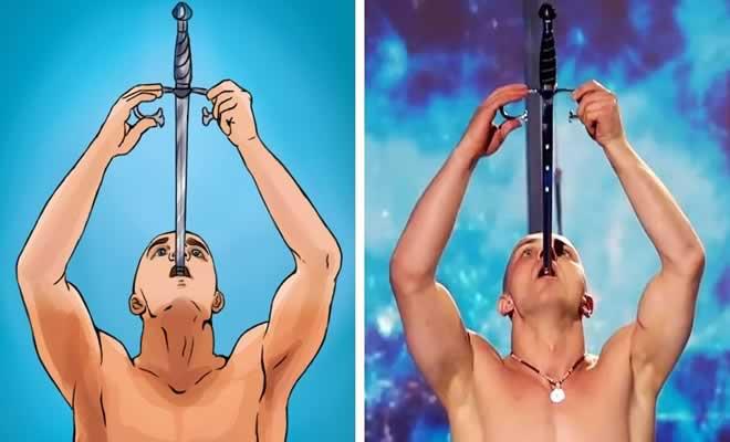 Os truques de mágica mais famosos do mundo finalmente revelados 2