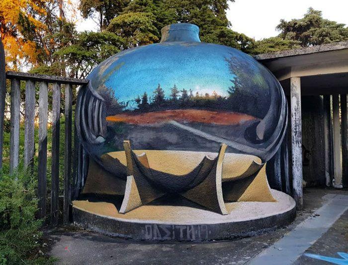 20 arte de rua 3D de cair o queixo por Odeith 10