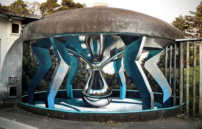 20 arte de rua 3D de cair o queixo por Odeith 13