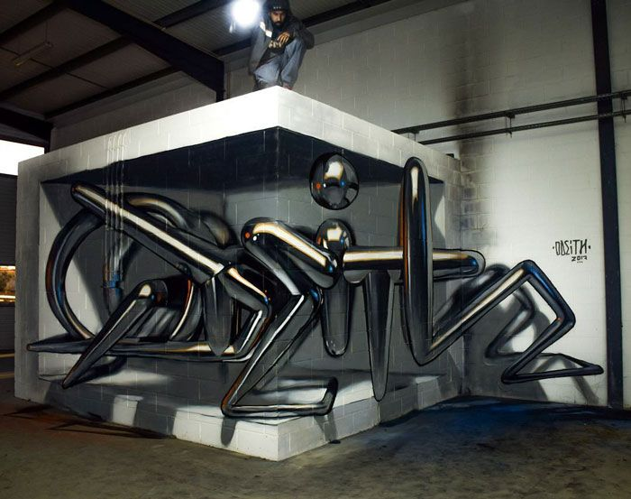 20 arte de rua 3D de cair o queixo por Odeith 29