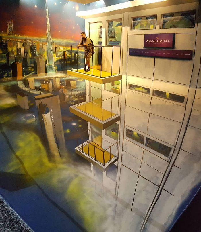 20 arte de rua 3D de cair o queixo por Odeith 35