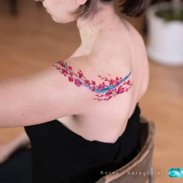 32 ideias de tatuagens estilo aquarela 13