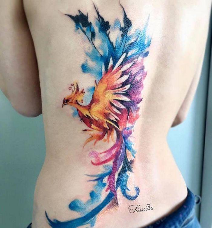 32 ideias de tatuagens estilo aquarela 25