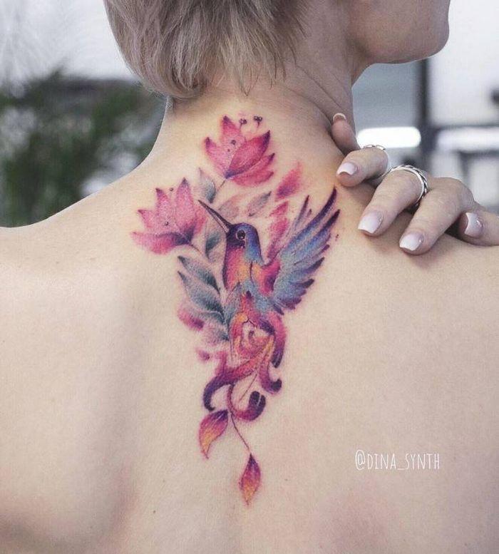32 ideias de tatuagens estilo aquarela 32