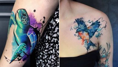Photo of 32 ideias de tatuagens estilo aquarela