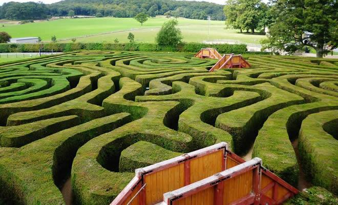 20 labirintos deslumbrantes pelo mundo 1