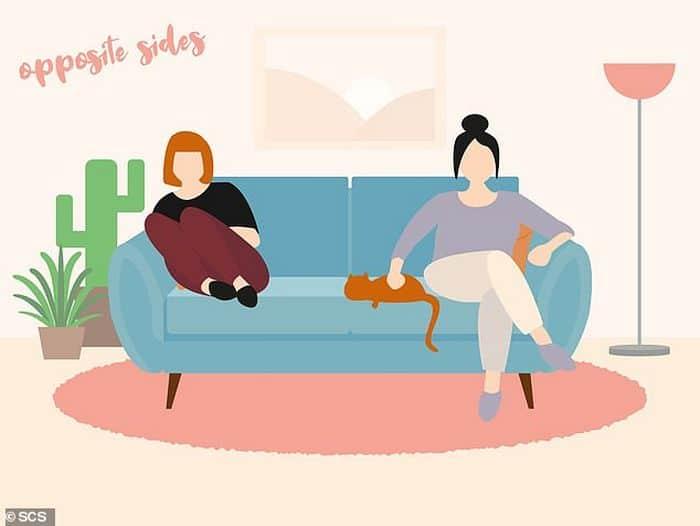 Descubra que a sua posição no sofá diz sobre o seu relacionamento? 6