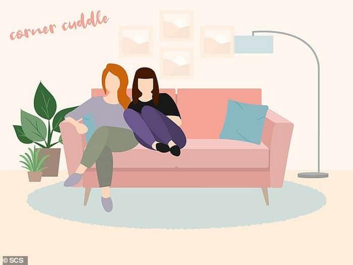 Descubra que a sua posição no sofá diz sobre o seu relacionamento? 9