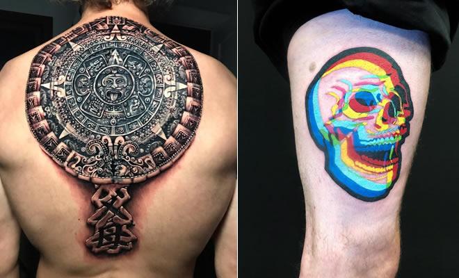 21 tatuagens em 3D que encantam nossos olhos 4