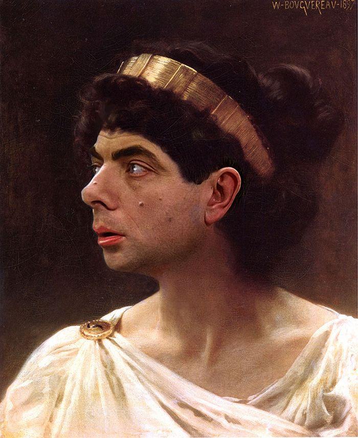 Artista coloca Mr. Bean em 22 sensacionais quadros clássicos 5