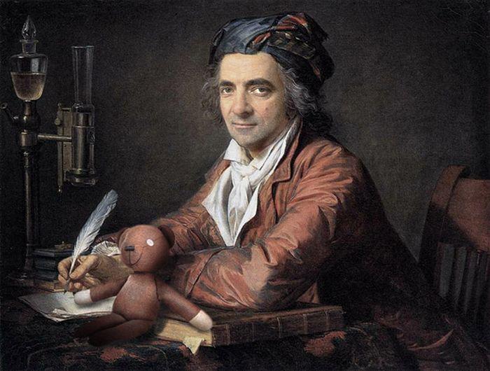 Artista coloca Mr. Bean em 22 sensacionais quadros clássicos 9