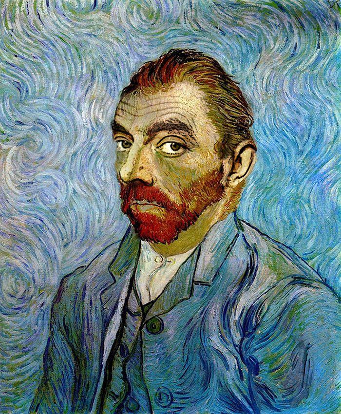 Artista coloca Mr. Bean em 22 sensacionais quadros clássicos 15
