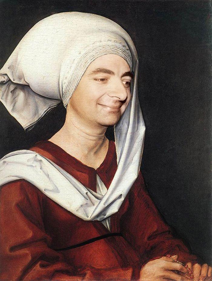 Artista coloca Mr. Bean em 22 sensacionais quadros clássicos 17