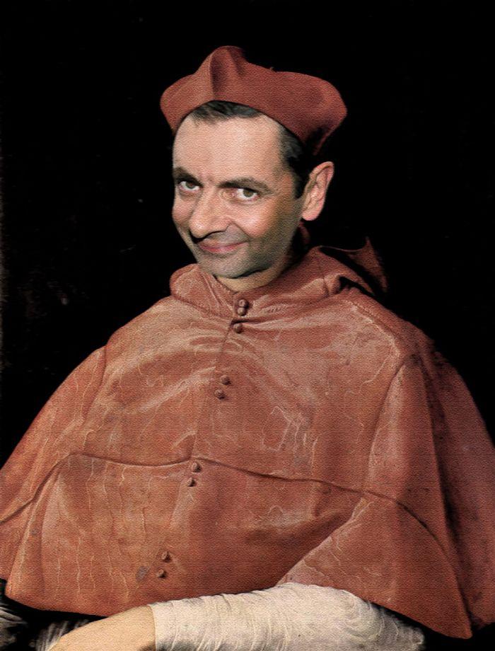 Artista coloca Mr. Bean em 22 sensacionais quadros clássicos 21