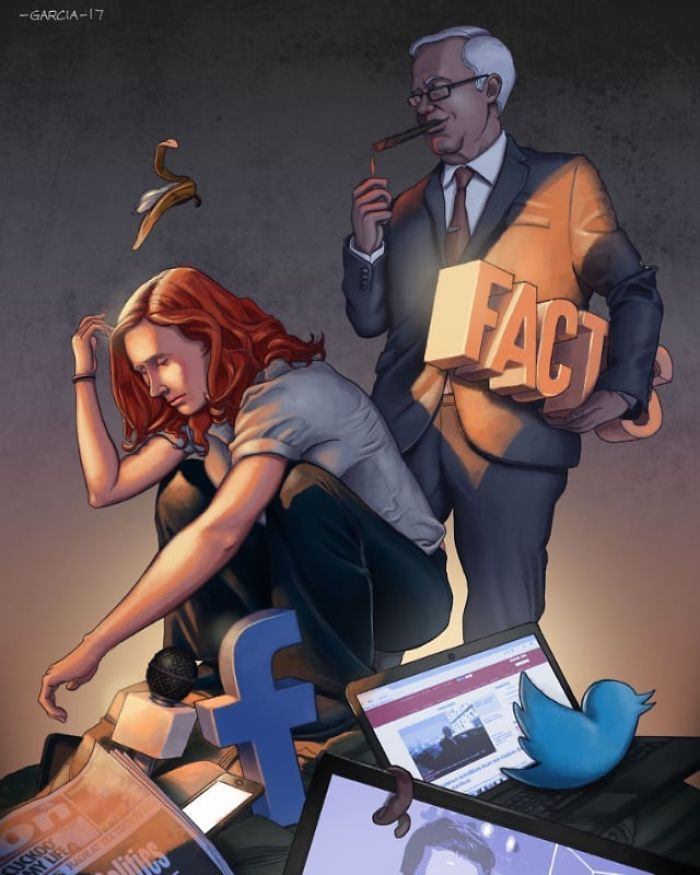 35 ilustrações mostram o que há de errado com nossa sociedade 6