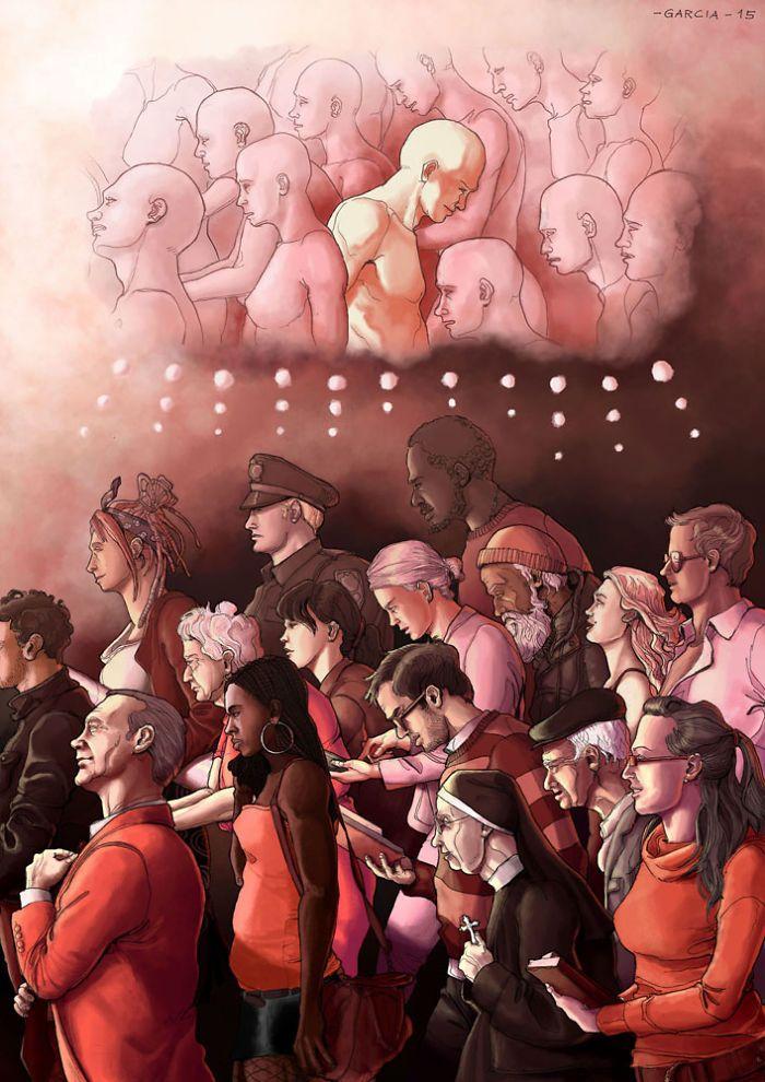 35 ilustrações mostram o que há de errado com nossa sociedade 17