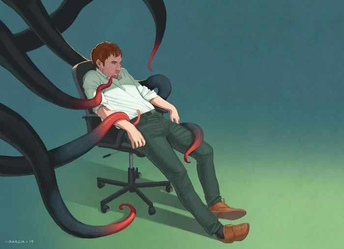 35 ilustrações mostram o que há de errado com nossa sociedade 19