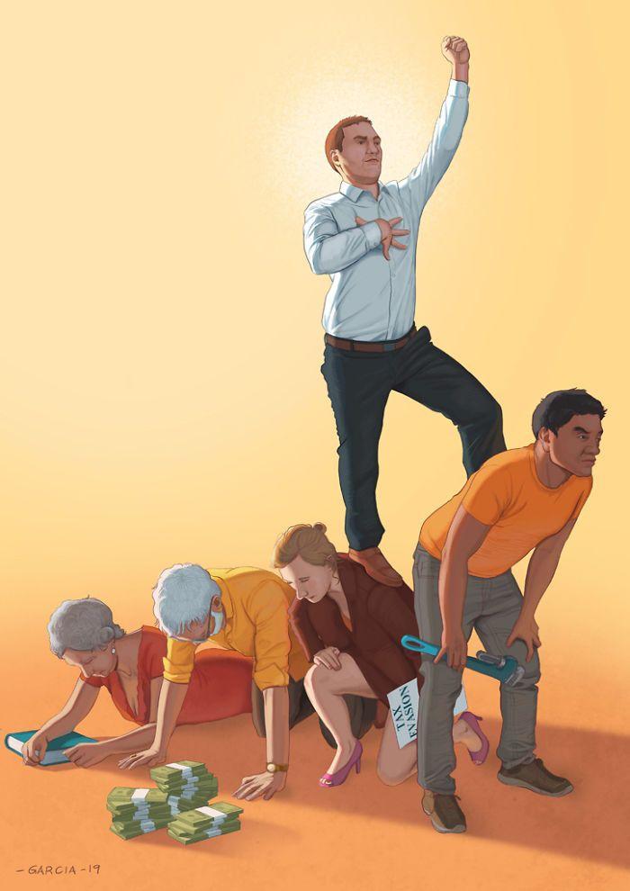 35 ilustrações mostram o que há de errado com nossa sociedade 20