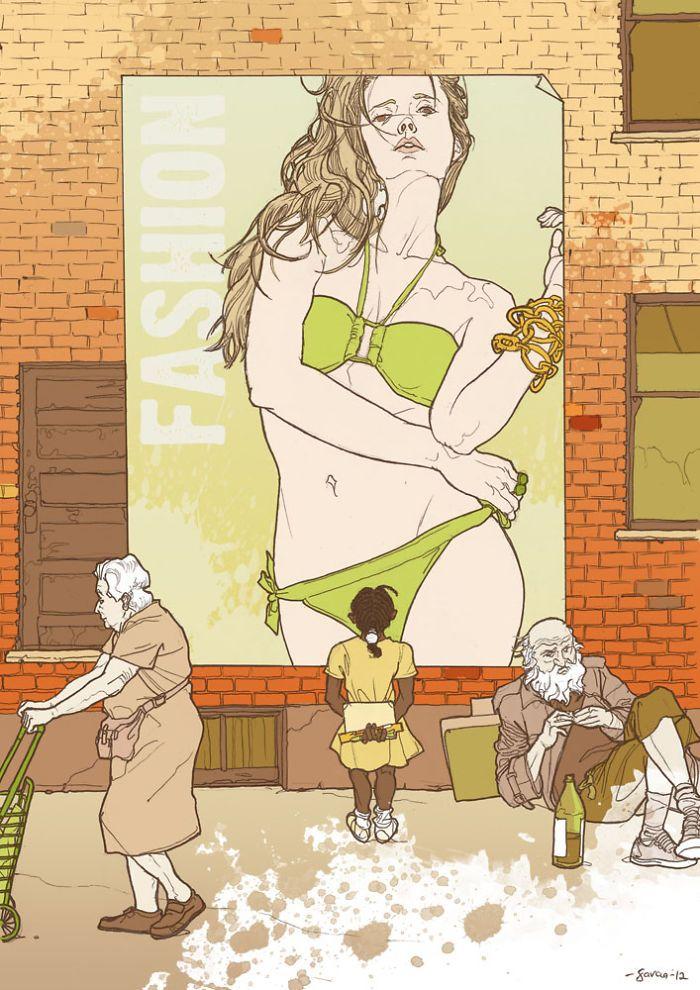 35 ilustrações mostram o que há de errado com nossa sociedade 22