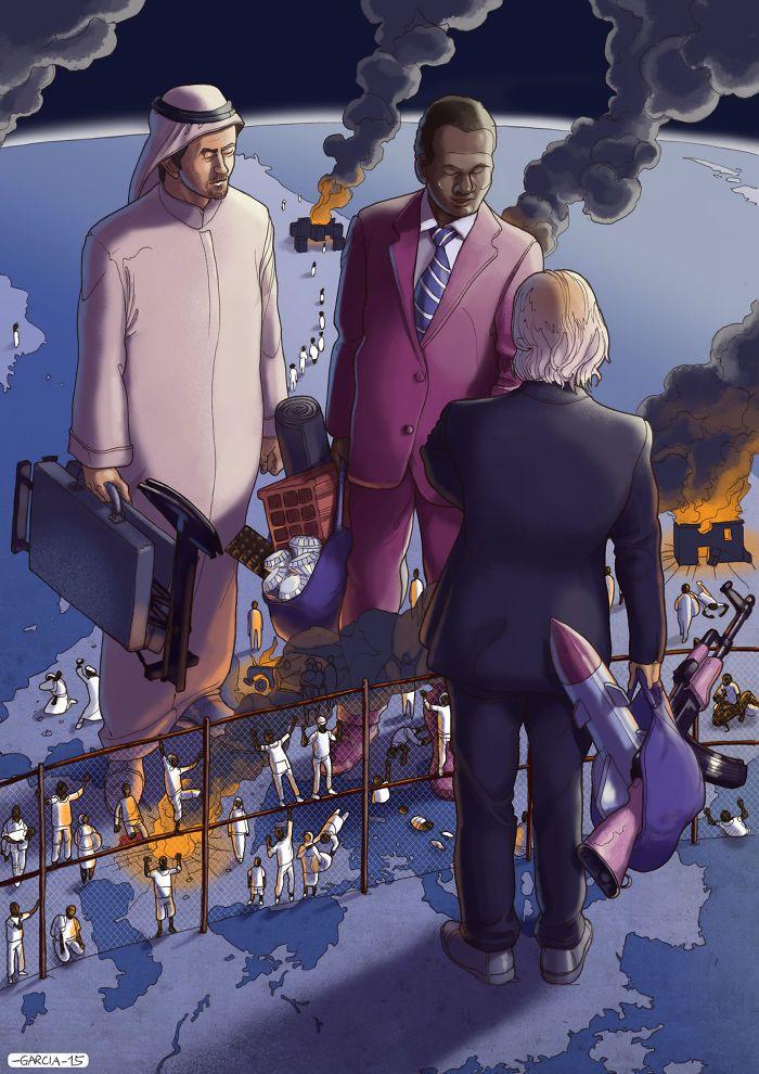 35 ilustrações mostram o que há de errado com nossa sociedade 31