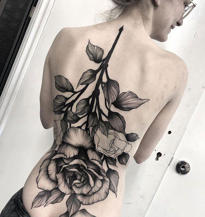 30 tatuagens impressionantes nas costas que são obras-primas 18