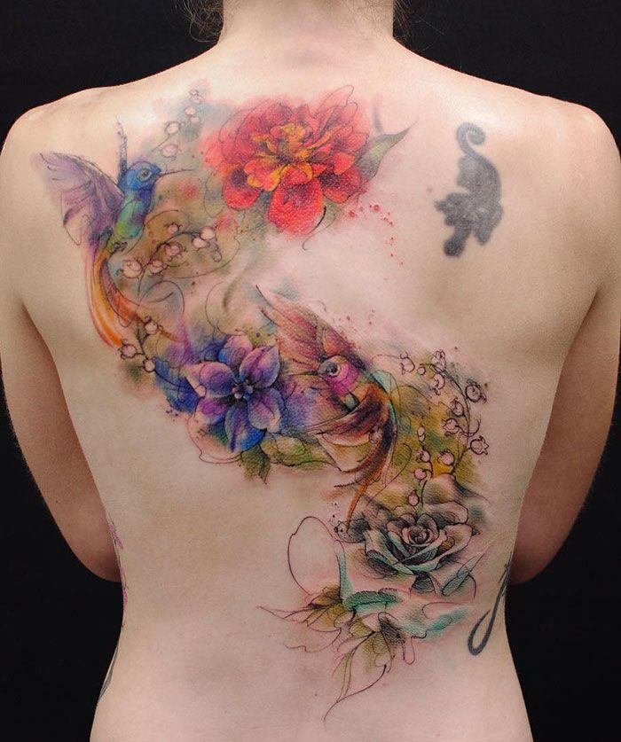 30 tatuagens impressionantes nas costas que são obras-primas 27
