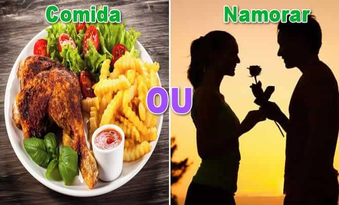 Comida ou Namorar