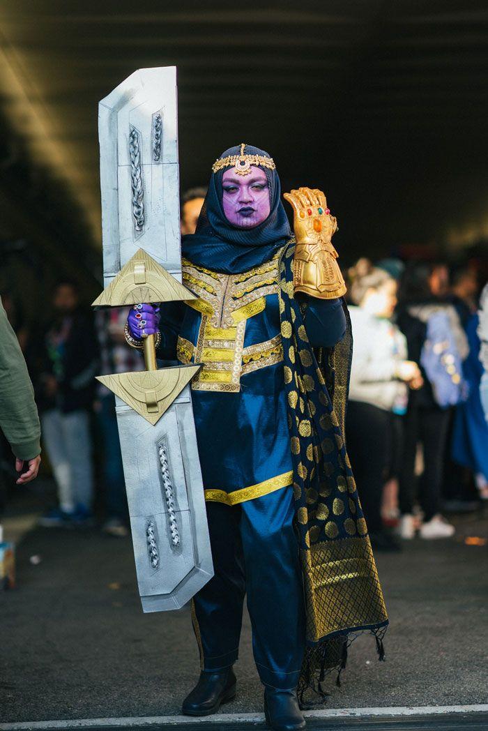40 cosplays de cair o queixo na Comic Con de Nova Iorque 2019 12