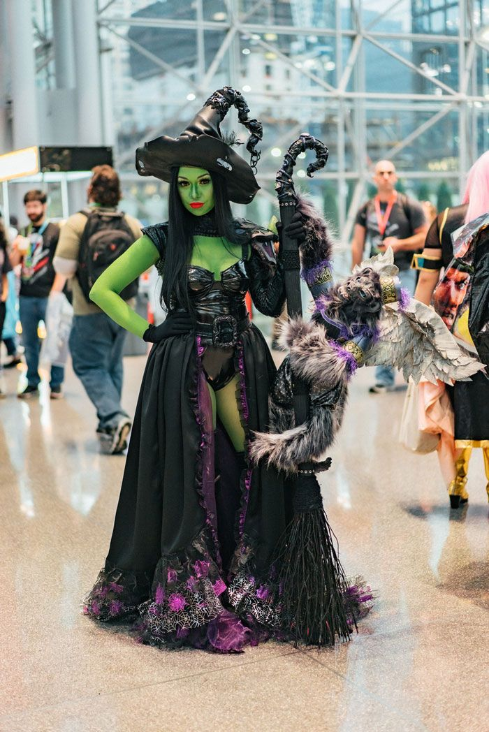 40 cosplays de cair o queixo na Comic Con de Nova Iorque 2019 38