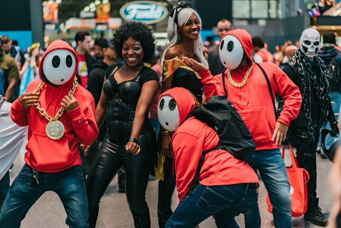 40 cosplays de cair o queixo na Comic Con de Nova Iorque 2019 40