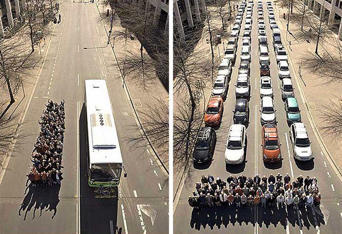 21 fotos que mostra maneira mais simples de ilustrar a diferença entre duas coisas 2