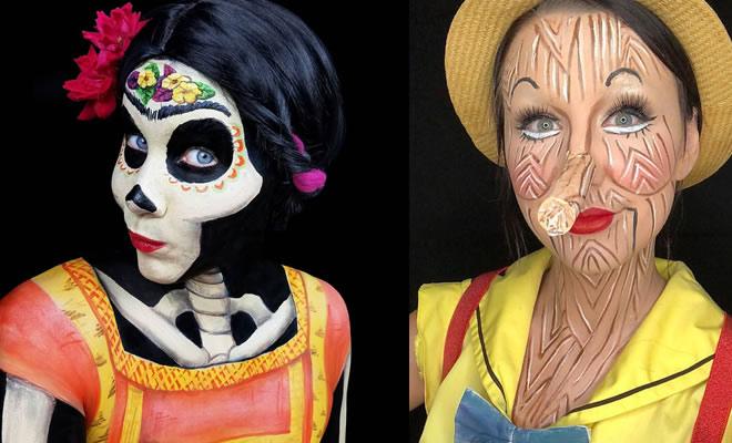 22 maquiagens inspiradas de personagens da Disney 4