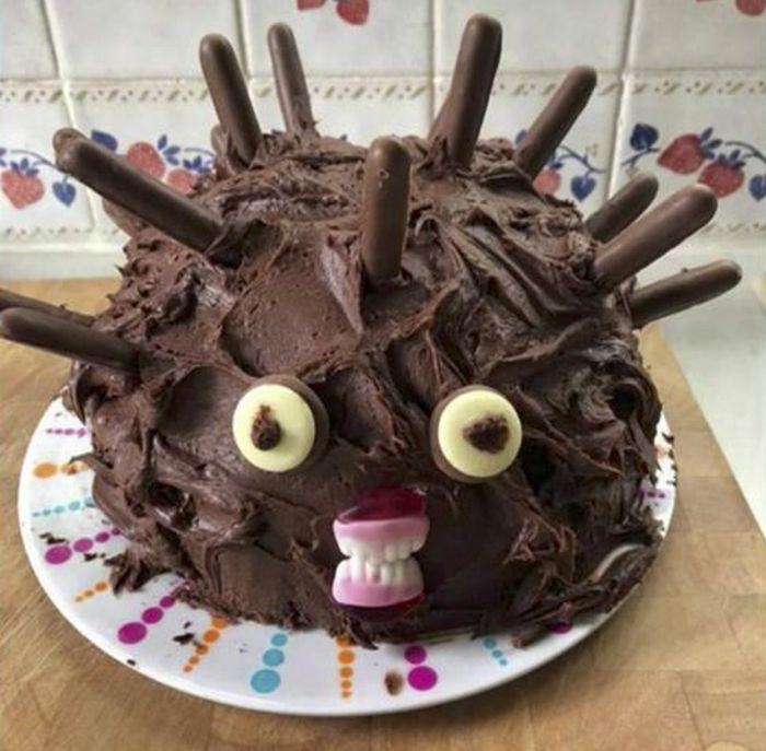 21 piores bolo de ouriço que você pode imaginar 4