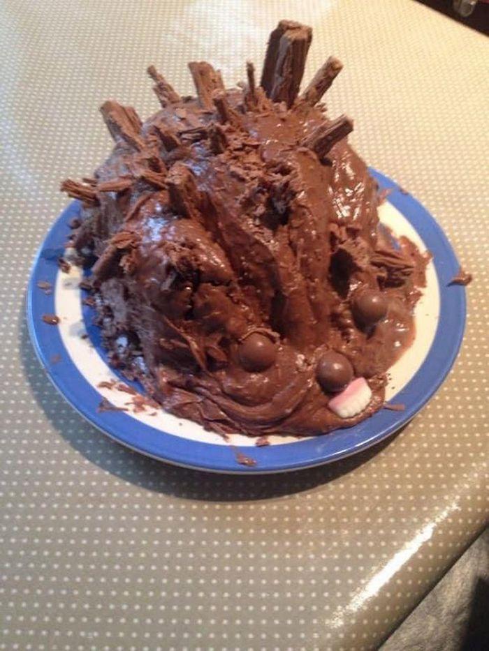 21 piores bolo de ouriço que você pode imaginar 6