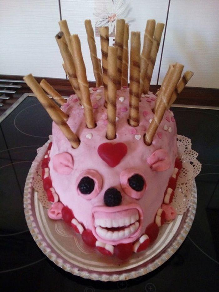 21 piores bolo de ouriço que você pode imaginar 14