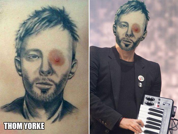 Tatuagens que não são nada parecidas com a vida real (21 fotos) 5