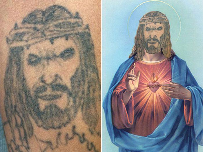 Tatuagens que não são nada parecidas com a vida real (21 fotos) 6