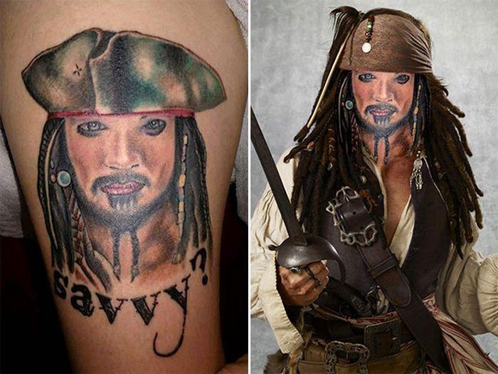 Tatuagens que não são nada parecidas com a vida real (21 fotos) 8
