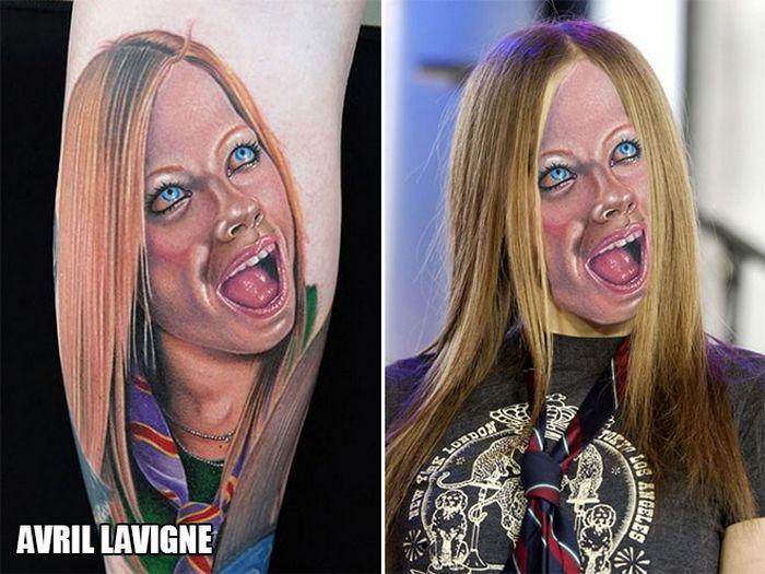 Tatuagens que não são nada parecidas com a vida real (21 fotos) 10