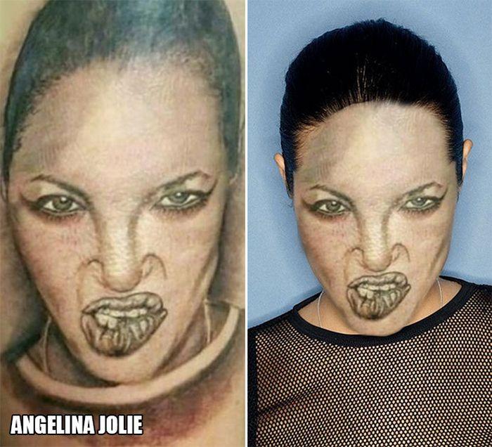 Tatuagens que não são nada parecidas com a vida real (21 fotos) 11