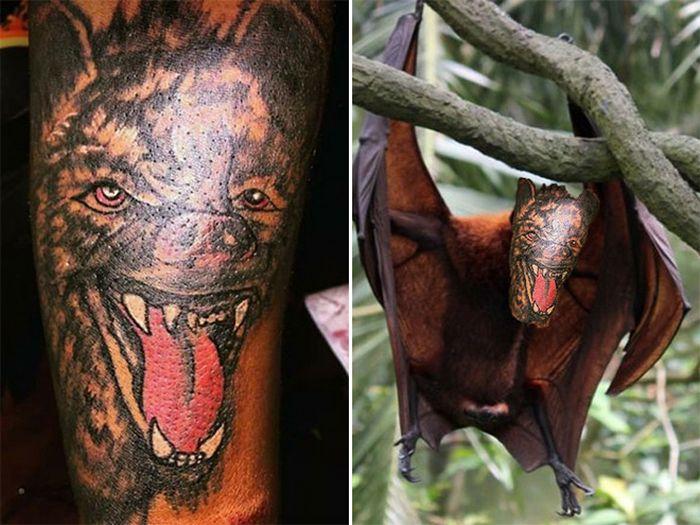 Tatuagens que não são nada parecidas com a vida real (21 fotos) 12