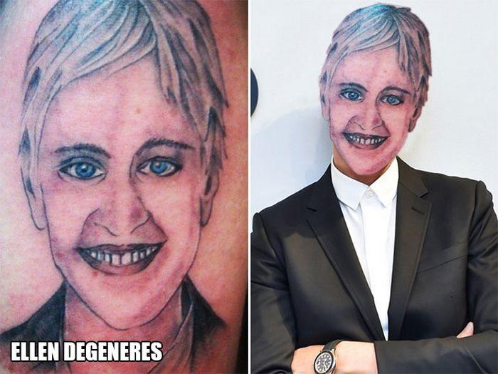 Tatuagens que não são nada parecidas com a vida real (21 fotos) 14