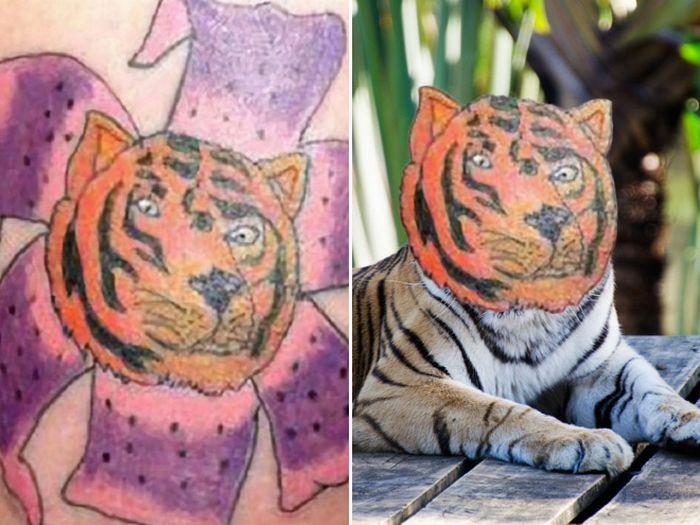 Tatuagens que não são nada parecidas com a vida real (21 fotos) 15