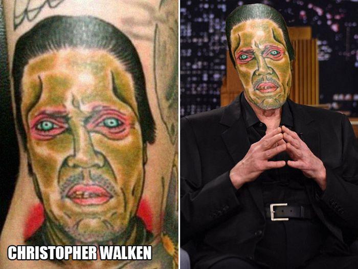 Tatuagens que não são nada parecidas com a vida real (21 fotos) 16