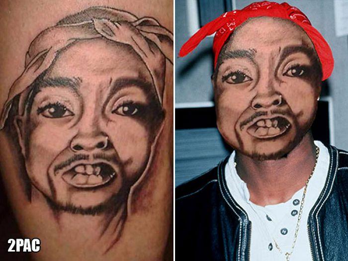 Tatuagens que não são nada parecidas com a vida real (21 fotos) 17
