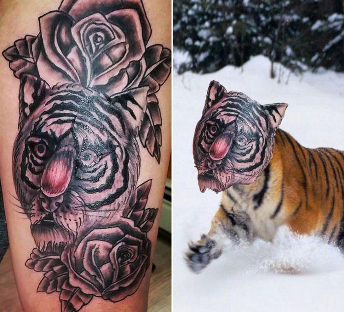 Tatuagens que não são nada parecidas com a vida real (21 fotos) 18
