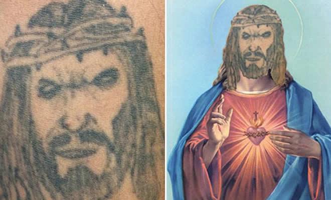 Tatuagens que não são nada parecidas com a vida real (21 fotos) 31
