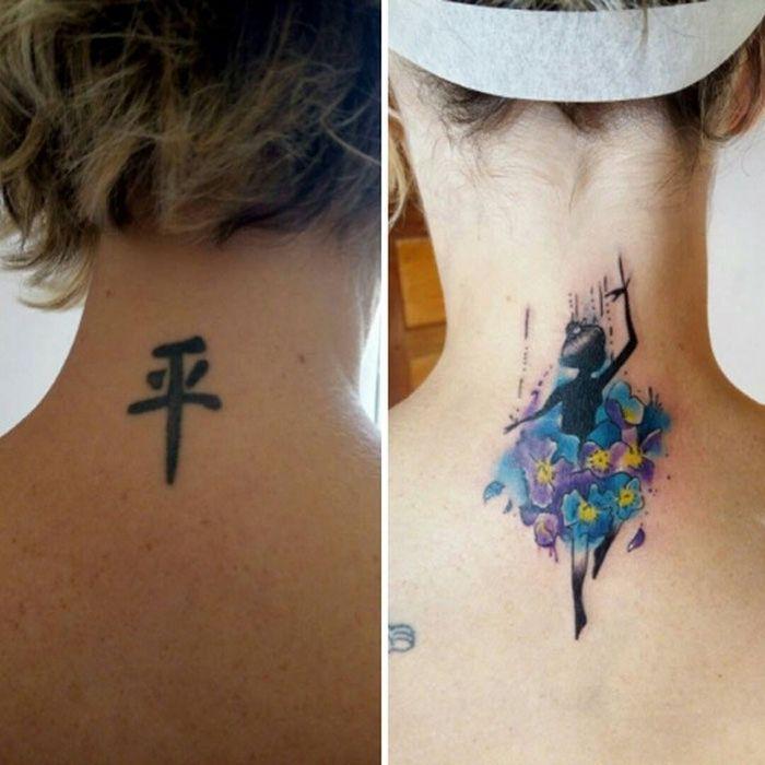 28 tatuagens que receberam retoques impressionantes 6
