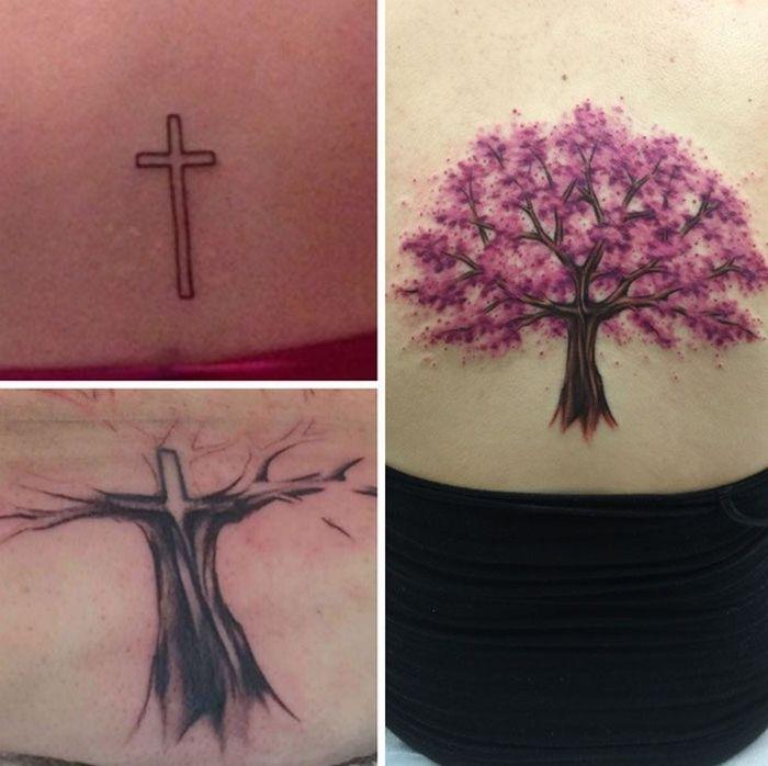 28 tatuagens que receberam retoques impressionantes 7
